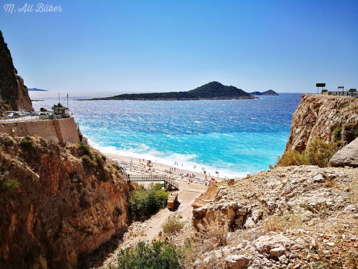 Lansdcape Kalkan Antalya Turkey Kaputaj Plajı