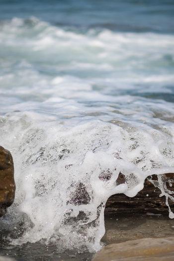 Cantabric Sea Rock Waves, Ocean, Nature