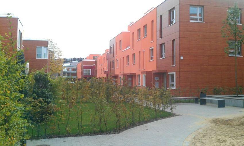 Kolorierte Fassaden