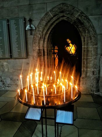 Taking Photos Old Church Oldtown Take A Walk With Me Historical Place Historic Building Burning Candles Candle Light