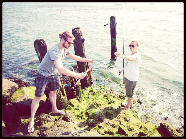 catching Fresh Fish from the Oosterschelde