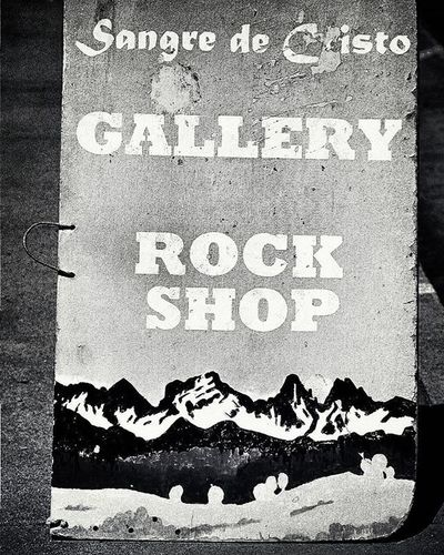 Bnw Blackandwhite Blackandwhitephotography Bnw_life Bnw_captures Bnw_society Bnw_demand Rocks Rock Mineral Sangredecristo Westcliffe Hometown Smalltown Streetsign Smallbusiness Mountains Monochrome Wetmountainvalley