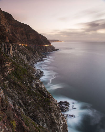 Cape Town Cape Town, South Africa Coastline Lion's Head Long Exposure Rocks Rocks And Water Seascape Seascape Photography South Africa Sunset Table Mountain Travel Destinations Travel Photography