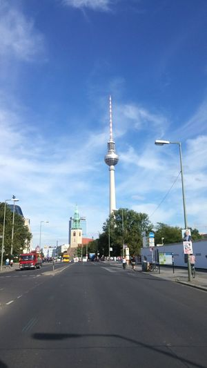 Travel City Travel Destinations Tower Outdoors Sky Day Berlin