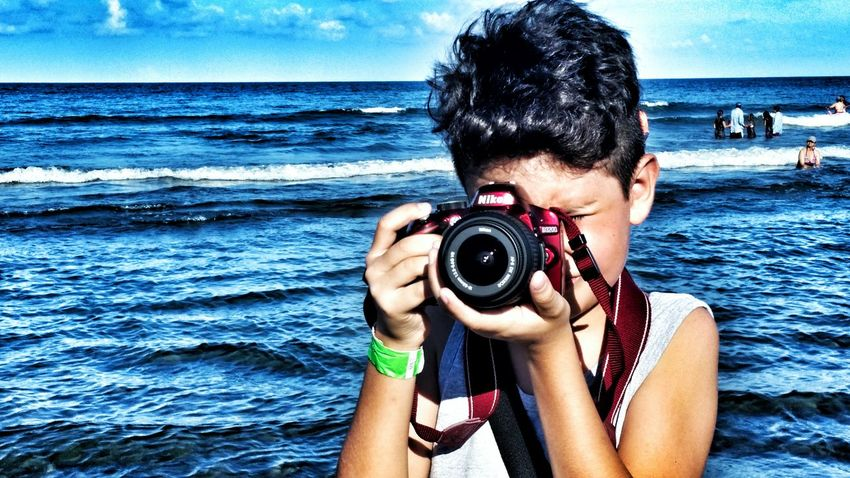 Mylittleboy Myson MySON♥ Littlephotographer Horizon Over Water Beach Water Tranquil Scene Beauty In Nature Tourist Vacations Travel Destinations Mexico De Mis Amores Mexico Travel Photography Traveling Face Of EyeEm EyeEm Best Shots EyeEm Gallery Vacations Travelgram Bestshoteyeem