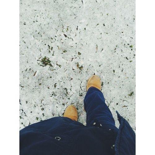 Baharda kar tadı yaşanıyor bizim oralarda ^Snow Ice Morning Bahars özdebotsvscocam