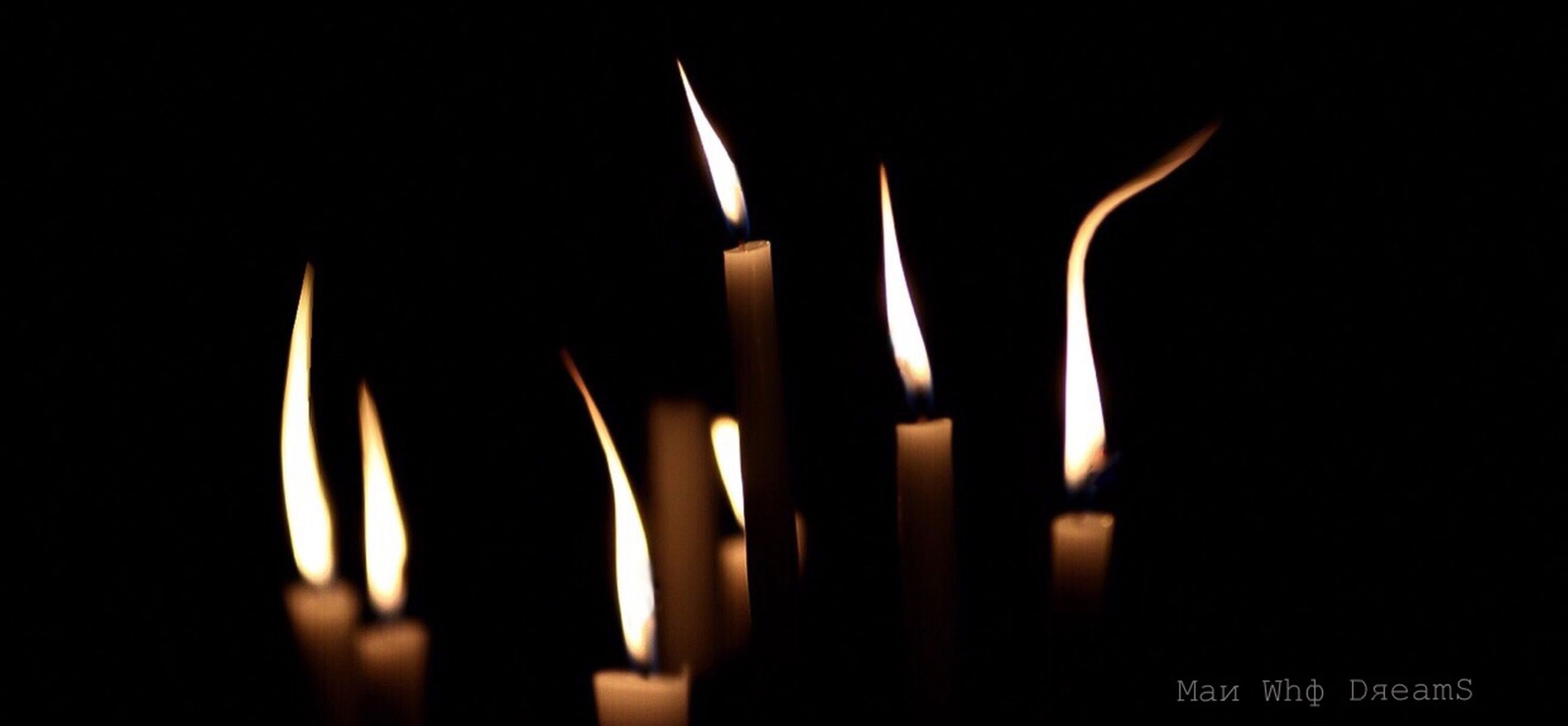 flame, fire, burning, heat - temperature, candle, fire - natural phenomenon, spirituality, belief, religion, close-up, indoors, no people, studio shot, place of worship, nature, black background, dark