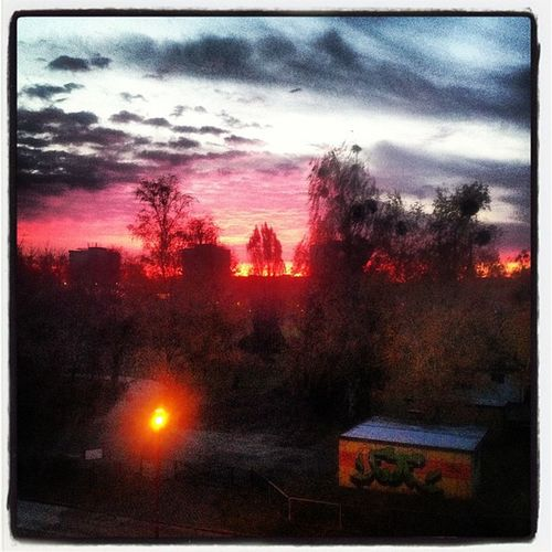 Guten Morgen Welt! Weather Sunrise Red Instamood Instagood