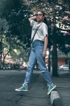 80's redo Street Streetphotography Fresh On Market 2018 EyeEm Best Shots EyeEm Teenager Young Adult Portrait Africa Woman Fashion