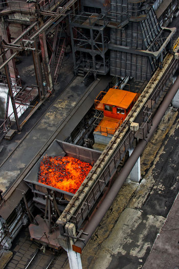 NLMK, Altai coke plant, Russia, metallurgy, wewalka coke from ovens Architecture Built Structure City Life Connection Day Engineering NLMK, Altai Coke Plant, Russia, Metallurgy, Wewalka Coke From Ovens No People Railing Tourism Transportation
