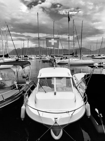 Harbor Switzerland Mont Blanc Lake Boat Been There.