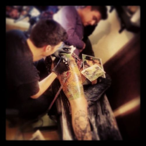 Its_all_about_the_ink In_Ink_We_trust Polis_Decay_Tattoo Last_colored_session