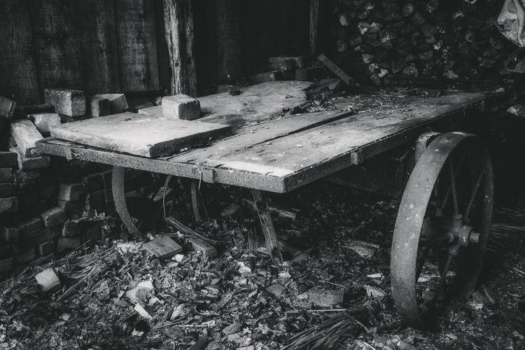 Abandoned shopping cart