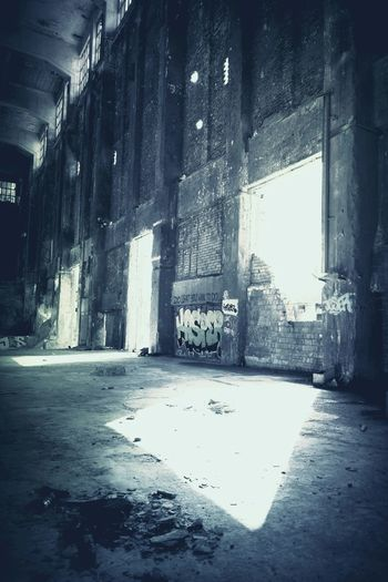 Architecture, abandoned places, Exploring New Ground
