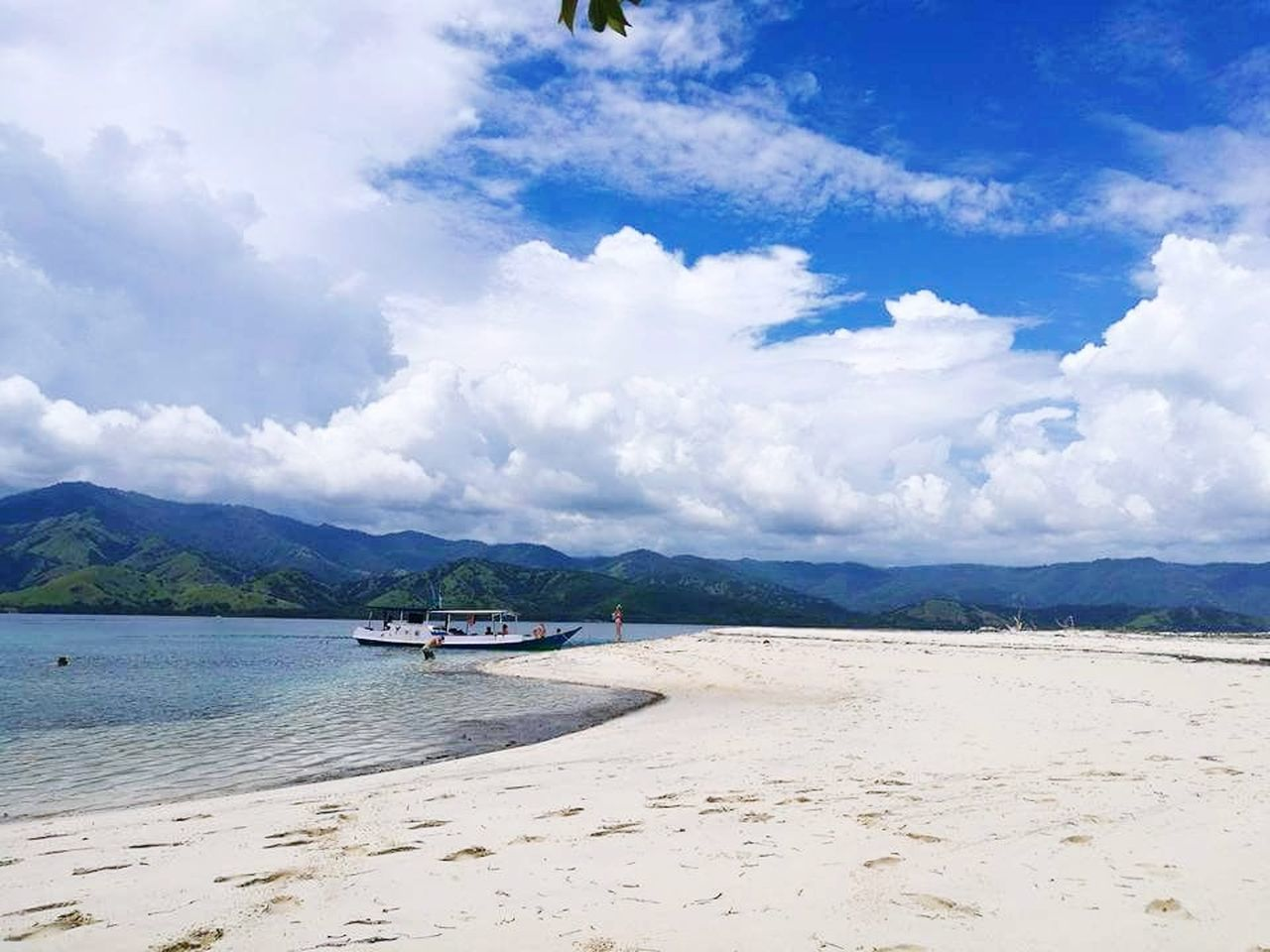 beach, mountain, cloud - sky, sand, sky, scenics, nature, sea, water, beauty in nature, outdoors, day, tranquility, landscape, no people, tree