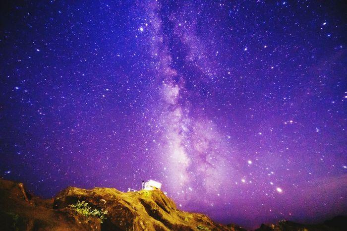 Star 天の川 Night Sky Japan Photography Milkyway 野島崎灯台