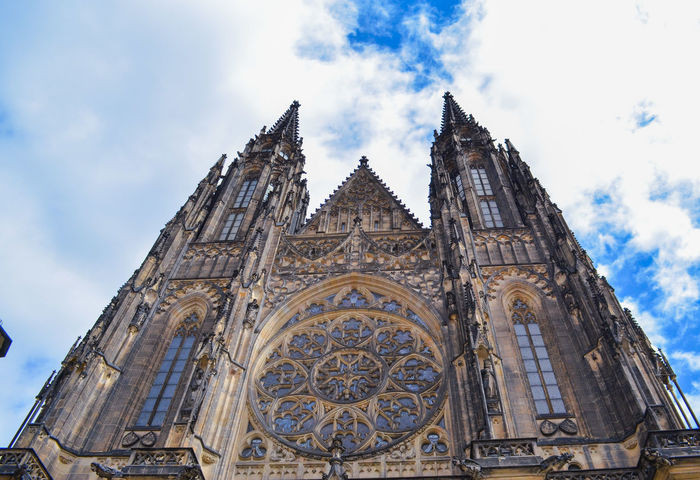 Cathedral Prague Your Ticket To Europe Architecture History Old Buildings Place Of Worship Religion Sky