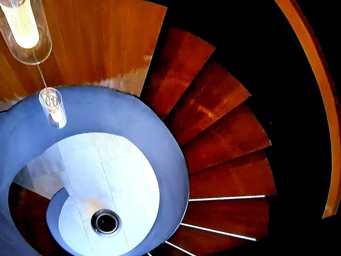 The stairs Spiral Staircase High Angle View Close-up Stairs Steps And Staircases Steps Fire Escape Moving Down Staircase Geometric Shape Housing Settlement EyeEmNewHere EyeEmNewHere Autumn Mood Autumn Mood