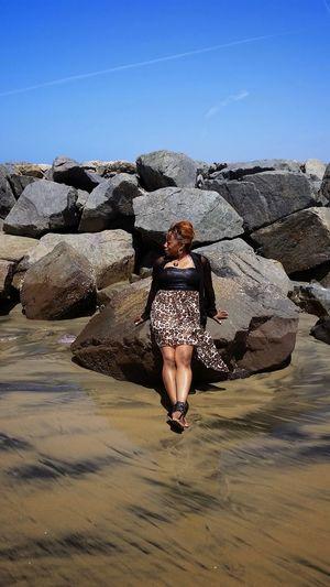 Water Young Women Sand Desert Heat - Temperature Full Length Sand Dune Sky