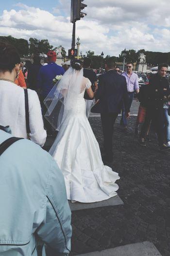 Wedding Bride Walking Around Walking People People Watching Peoplephotography People Photography Streetphotography