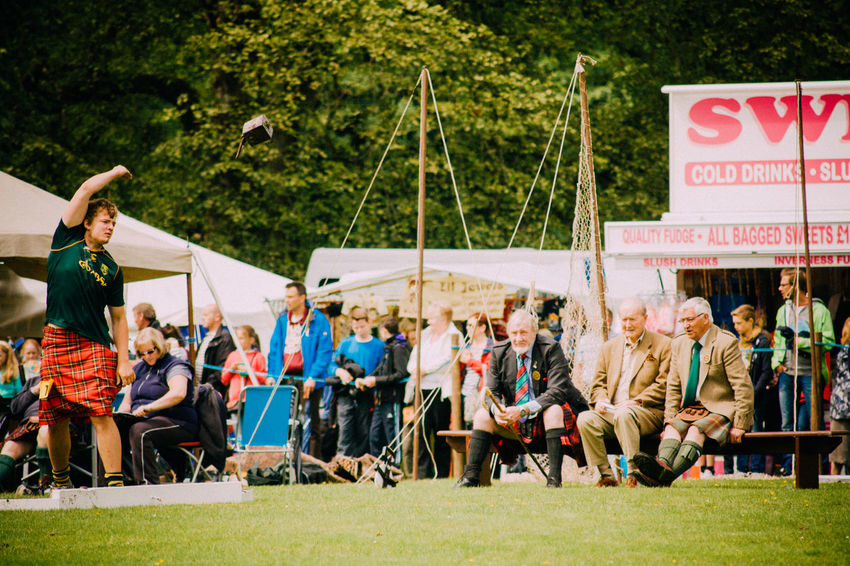 Events Fun Highland Games Kilts Leisure Activity Lifestyles Real People Scotland Sport Sports Sports Photography Throwing  Tradition Weight