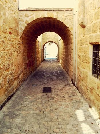 Architecture Arch Alleyway Stone Cyprus