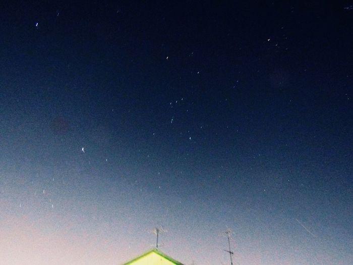 この季節の東京の星空が好きだ。 Tokyo,Japan Nightmares And Dreamscapes 夜空 No Standard World Astronomy Low Angle View No People Nature Clear Sky EyeEmNewHere EyeEmNewHere