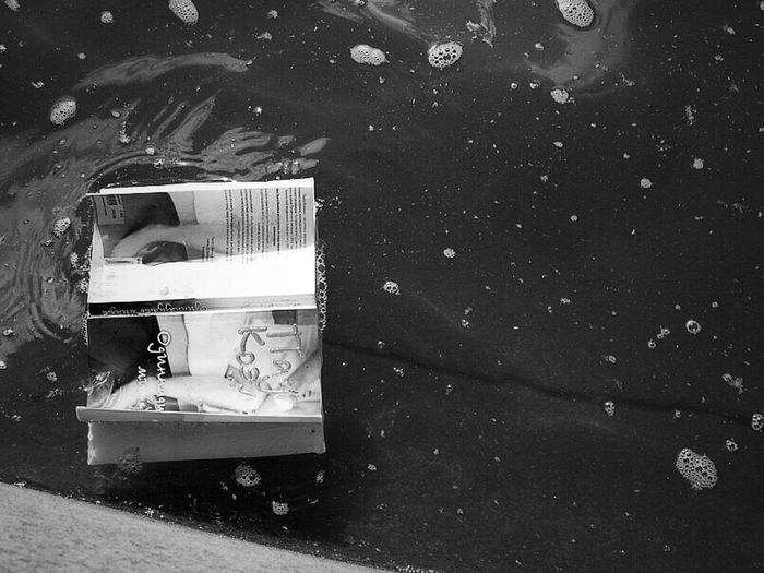 Saint Petersburg 3 Years Ago Hanging Out Book Water Blackandwhite Black And White