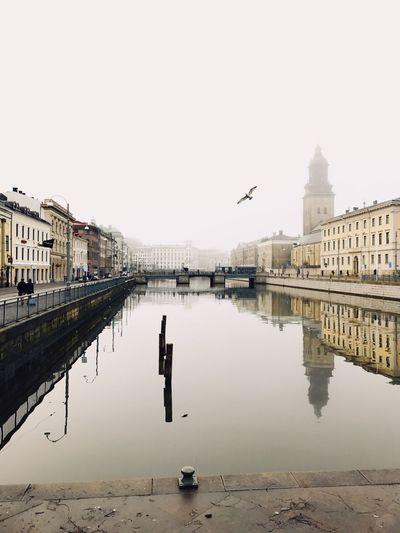 Gøteborg Scandinavia Winter Cold City Bridge Water EyeEmNewHere