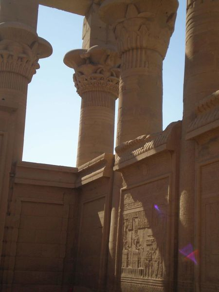 Edfu Hello World Check This Out Enjoying Life Egypt Vacation Time ♡ Temple Culture Flowermirrie Sun Edfu Temple