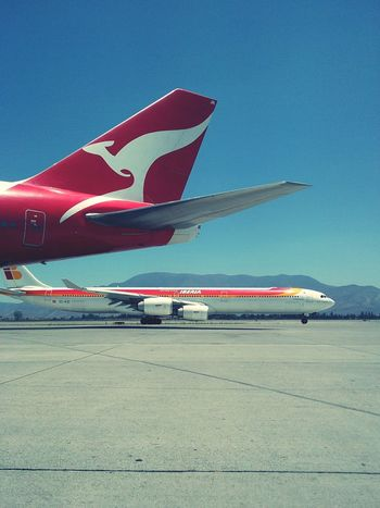 <3 Qantas Iberia Airlines Fly Working Boeing Airbus chile Chile