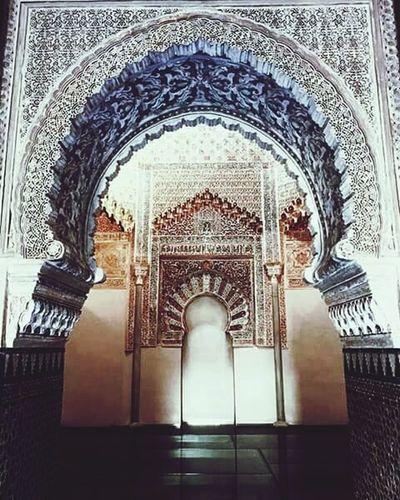 Portail Masjid Mozaïque Holy Gate To Heaven