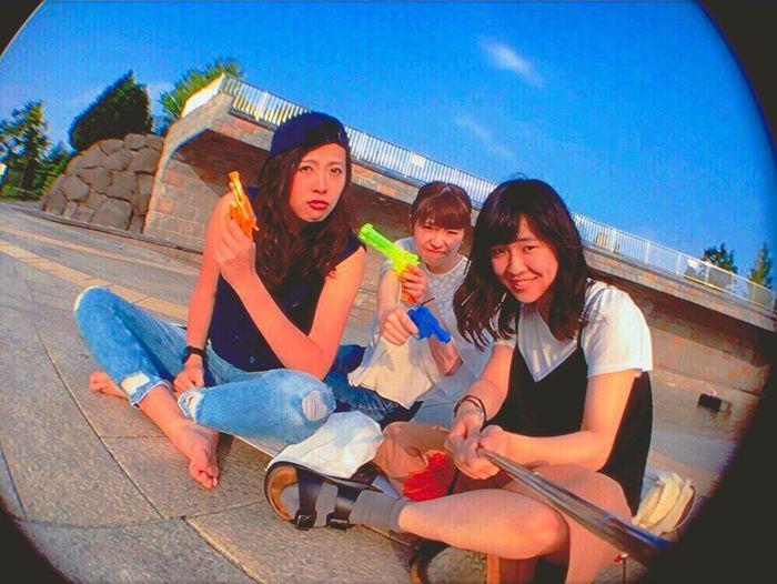 Good Times Like4like Lol :) Instagood TBT  Good Japan Photography Best Friend Photo Photography Hokkaido Japan 自然満喫倶楽部 清田区 Strawberries Ice Cream 川下公園 白石区 水鉄砲 シャボン玉 ドライブ Drive Drivebyphotography Wonderful Day
