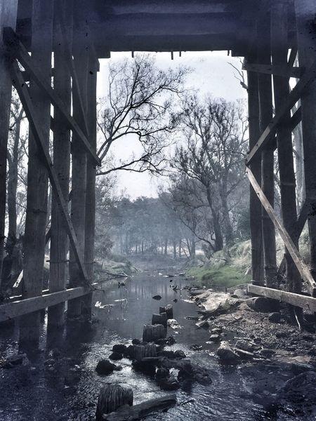 Showcase: December Bridge river
