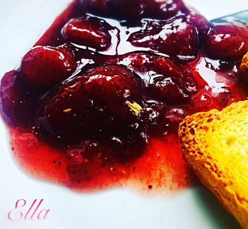 Strawberries jam. Food Strawberries Jam Confiture Fraises Homemade FaitMaison Goodfood