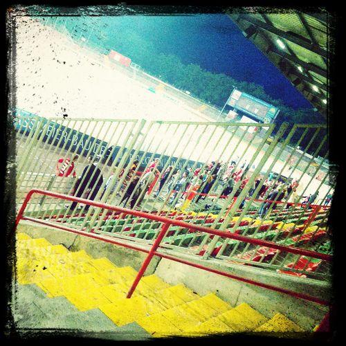 Zuhause bei RWO Fußball Gucken Stadion