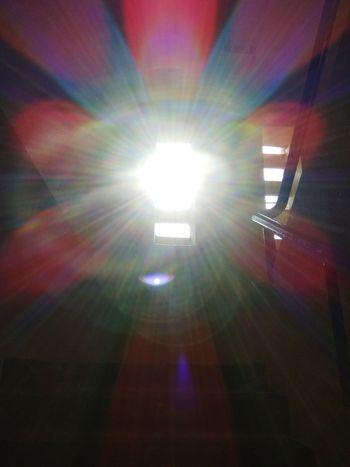 Sunbeam Indoors  Low Angle View Illuminated Light Beam Multi Colored No People Day Outdoor Photography Outside Photography Outside Nature Growth