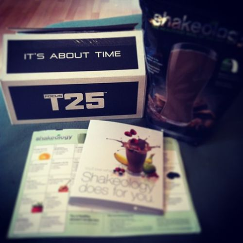 Yea, it is about time eh. Time to get fit!!! T25 Shakeology Workout Beachbody health