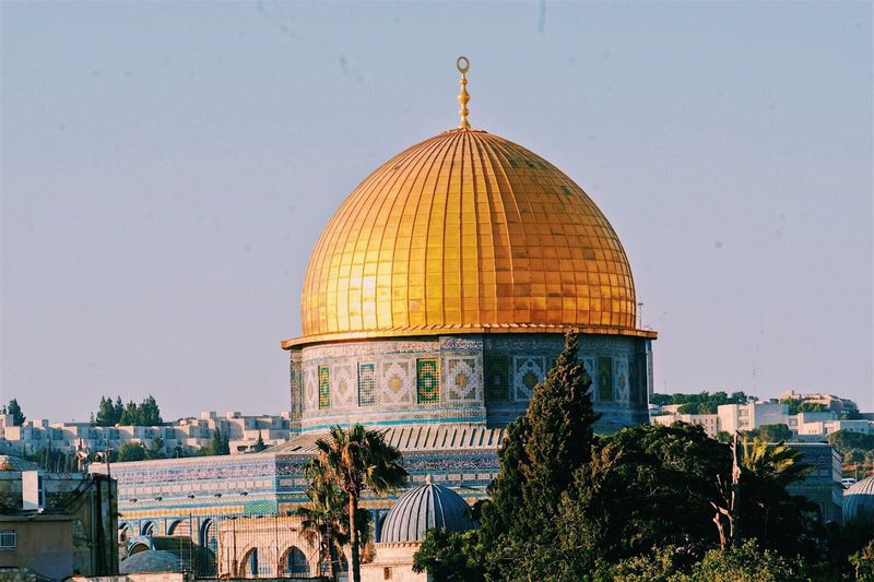 Al-aqsa Mosque in Jerusalem Dome Isreal  Jerusalem Mosque Architecture Place Of Worship FujiFilm X20 Xf18-135mm
