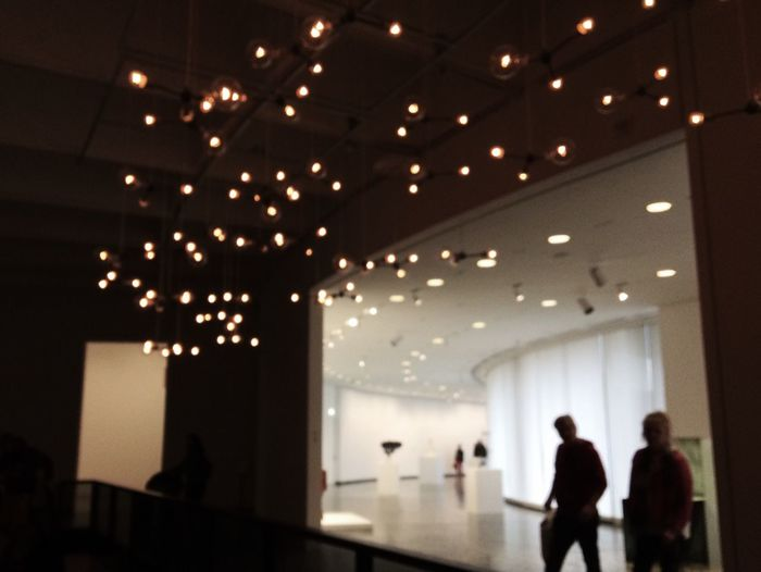 Lights Museum Ceiling Sparkle Illuminate
