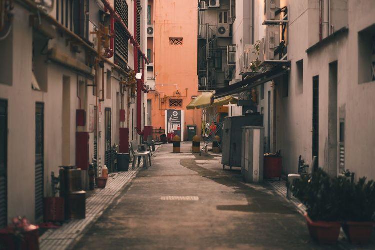 EyeEm Selects Alleyway City Street Backalley