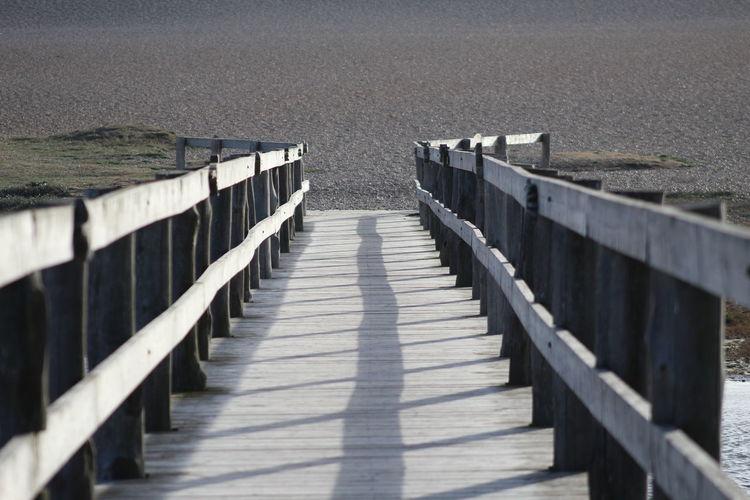 Board walk leading to the beach