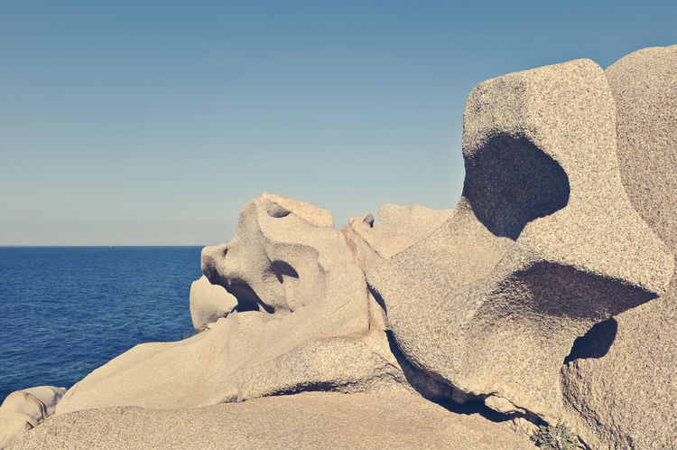 Capotesta rock Beauty In Nature Blue Capotesta Cliff Coastline Day Horizon Over Water Idyllic Nature No People Non-urban Scene Ocean Outdoors Remote Rock Rock - Object Rock Formation Scenics Sea Shore Sky Sunny Tranquil Scene Tranquility Water