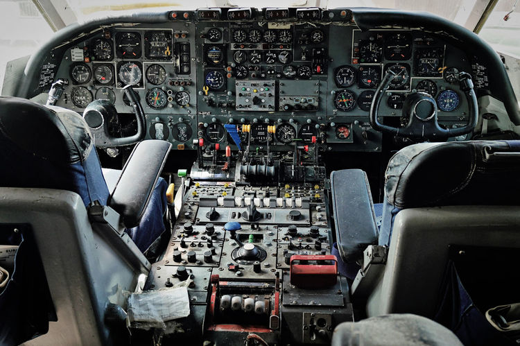 The Week On EyeEm Air Vehicle Airplane Cockpit Control Control Panel Dashboard Day Indoors  Mode Of Transport No People Technology Transportation Vehicle Interior