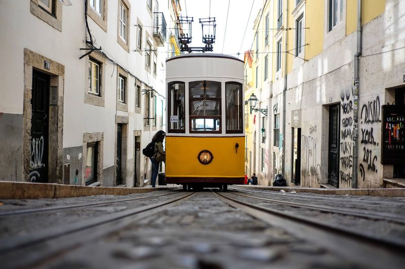 The Street Photographer - 2017 EyeEm Awards EyeEmNewHere Tram Yellow City Urban Transportation Cable Car EyeEm Best Shots Neighborhood Map BYOPaper! An Eye For Travel Colour Your Horizn Stories From The City The Traveler - 2018 EyeEm Awards