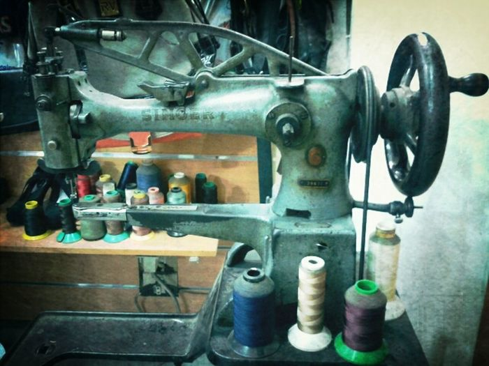 Alive And Kicking Singer Sewing Machine