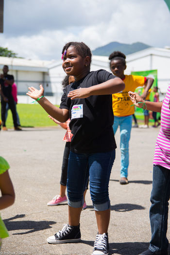 Beautiful EyeEm Gallery Exercise Zumba Games Enjoying Life Summercamp Stillife Nestle Kidsfest Caribbean Trinidad And Tobago Smiling