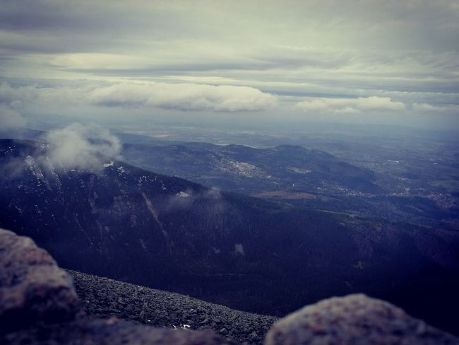 Road To Śnieżka śnieżka Karpacz Mountain Cloud - Sky Nature Vacations Trip