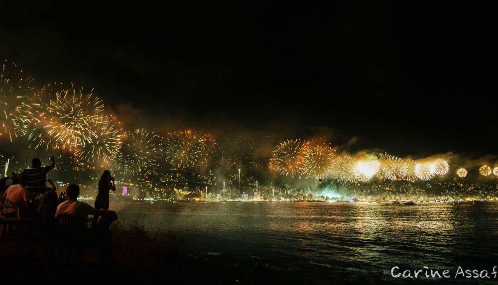 Fireworks Jounieh By Night Jouniehfestival Cities At Night EyeEm Best Shots Night Nightphotography Lebanon Silhouette