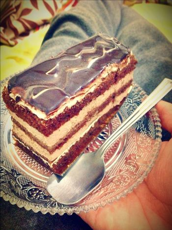 Eating Cake and Taking Photos Cakes